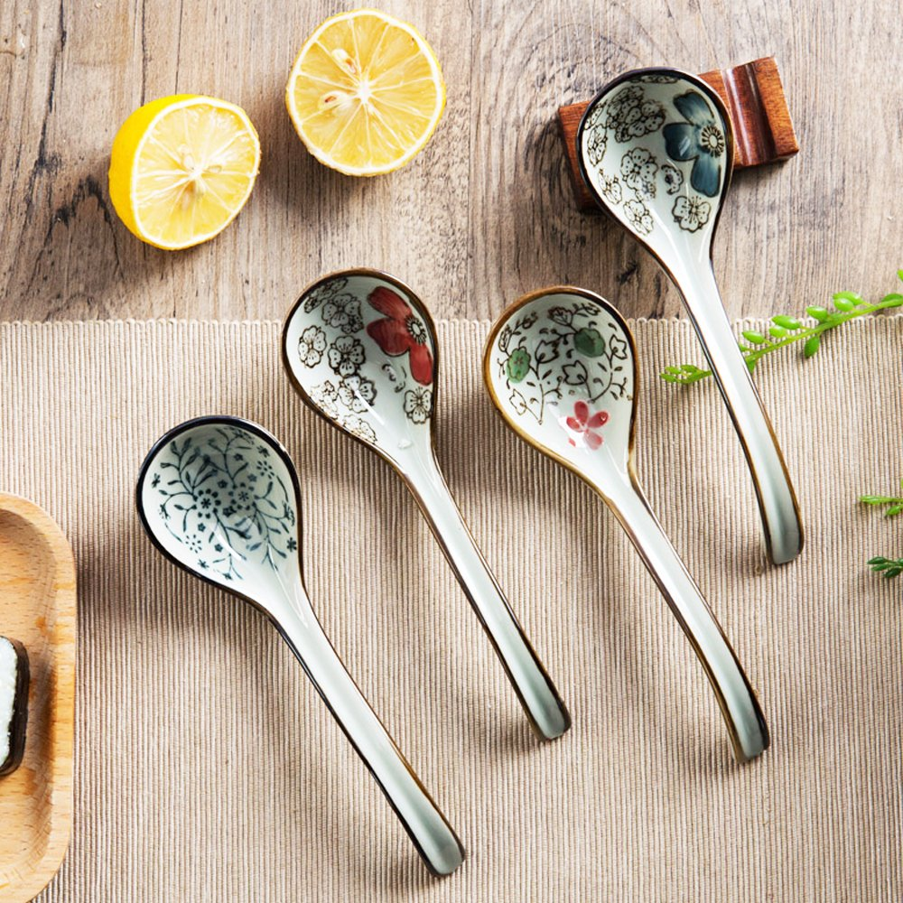 XDOBO Long handle Hook Spoon Soup Spoon Hand-crafted Tableware by xdobo (Image #4)