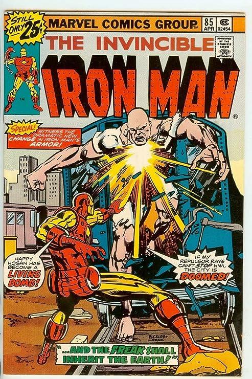 Amazon.com: IRON MAN #85 9.2: Entertainment Collectibles