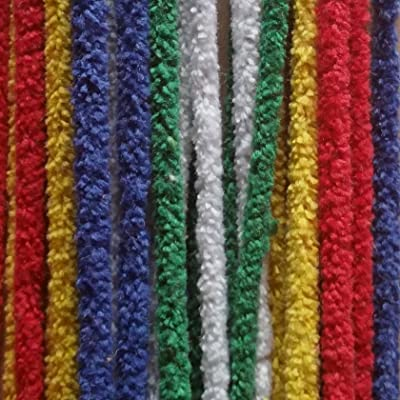 100pk Multi Coloured Pipe Cleaners: Toys & Games