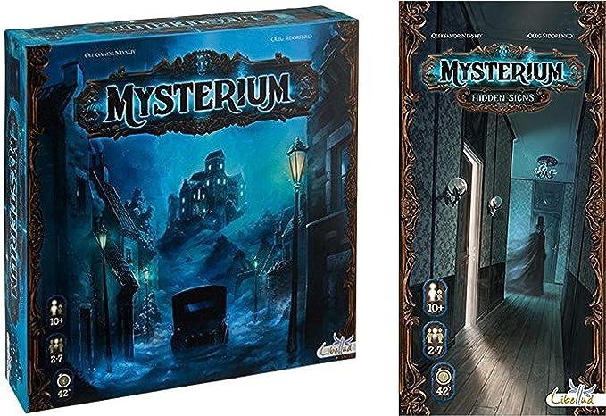 Asmodee Mysterium with Mysterium: Hidden Signs Expansion: Amazon.es: Juguetes y juegos