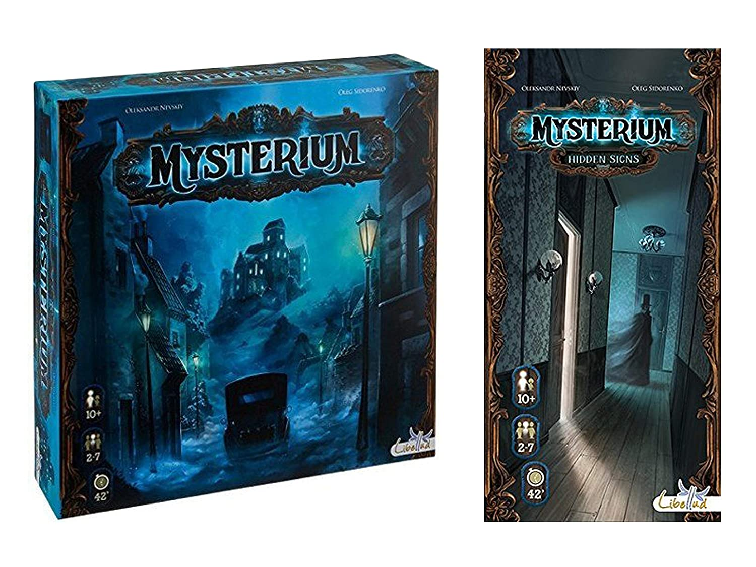 Asmodee Mysterium with Mysterium: Hidden Signs Expansion: Amazon ...