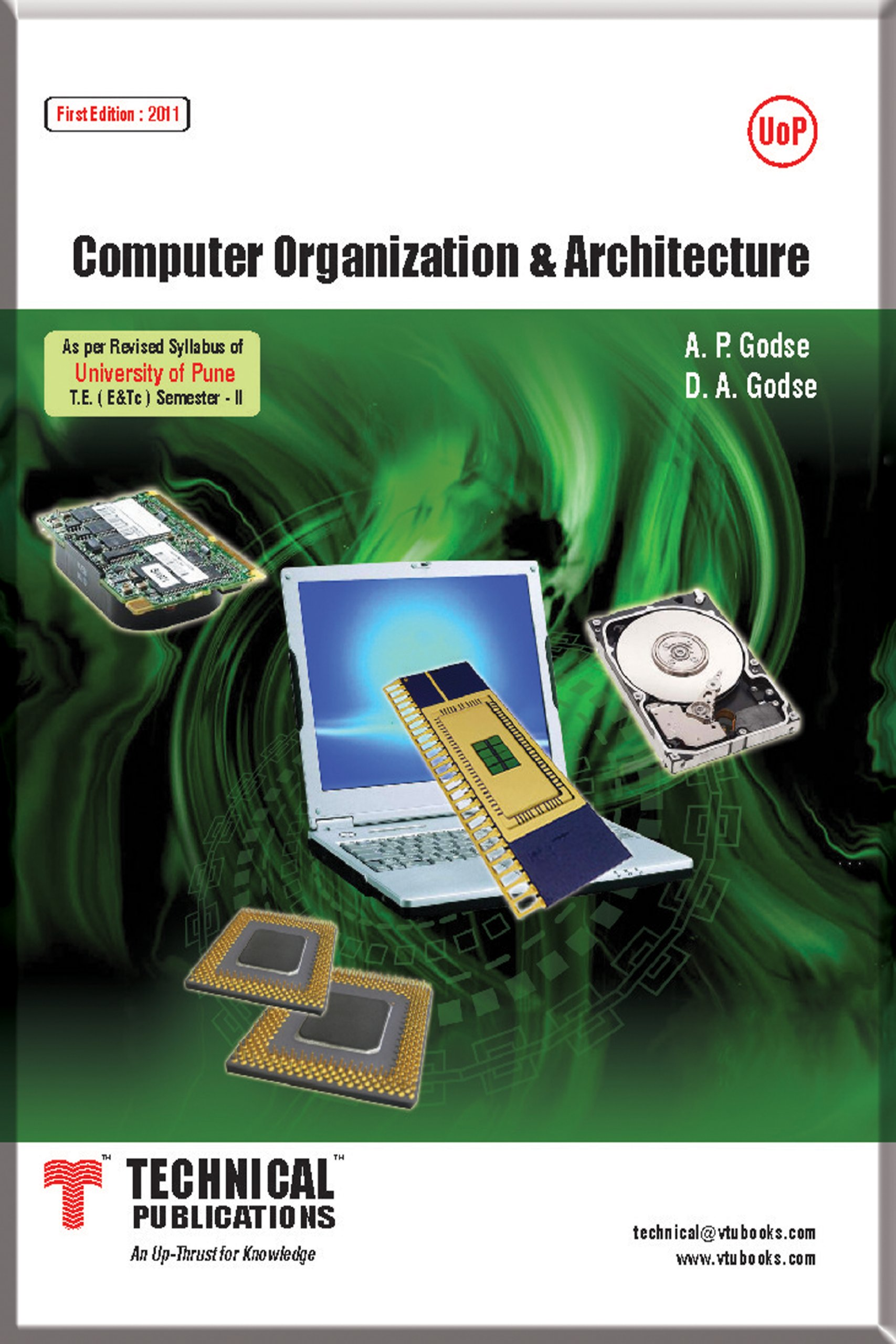 computer architecture and organization by ap godse