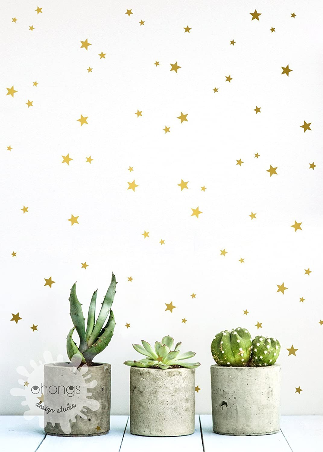 A Star in the room / Star wall decal / Mini Size and Custom color Star Pack / 3 Size Stars Decal Set / Kids wall decoration / Nursery Wall Decal / gift