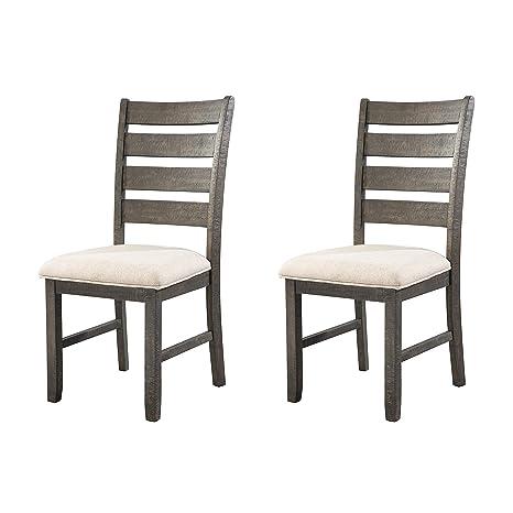 Amazon.com: Elementos Sullivan silla lateral en Dark Ash ...