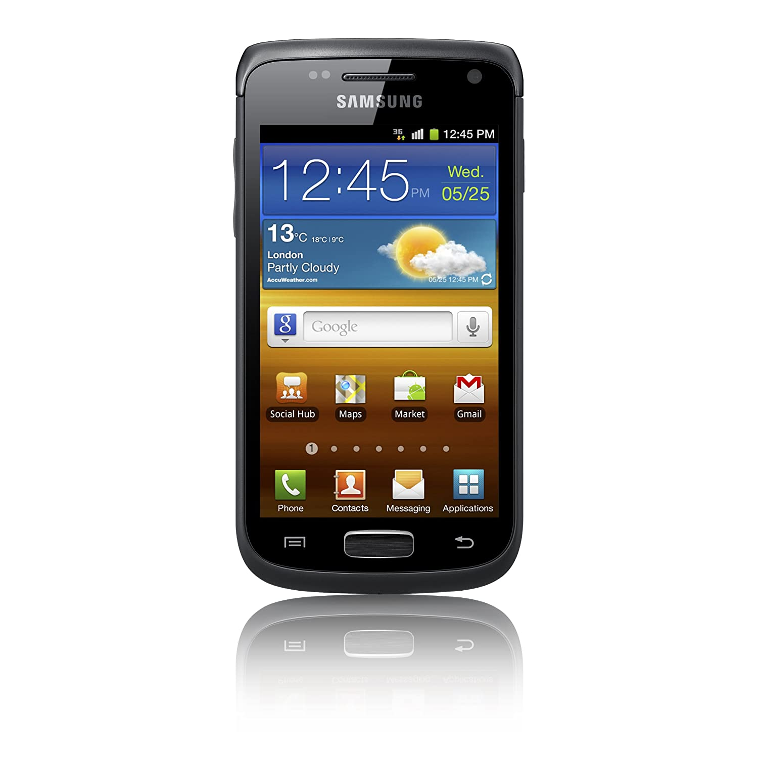 Samsung I8150 Galaxy W Sim Free Smartphone: Amazon.co.uk: Electronics
