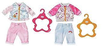 Zapf Garçons Bébé Né Vêtements Collection Jeu De Poignet - Accessoires De Poupée (jeu De Vêtements Pour Poupée, 3 An (s), Multicolore, 43 Cm, Garçon, Fille)