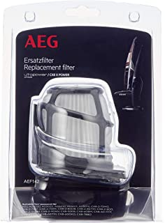 AEG AEF142 Filtro para aspiradoras Escoba CX8, Negro, Blanco