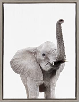 art print wall poster lucky elephant  wall posters US SELLER