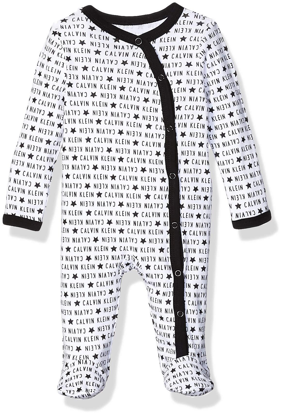 Calvin Klein baby-boys Bodysuit Unisex One-piece, Multipack