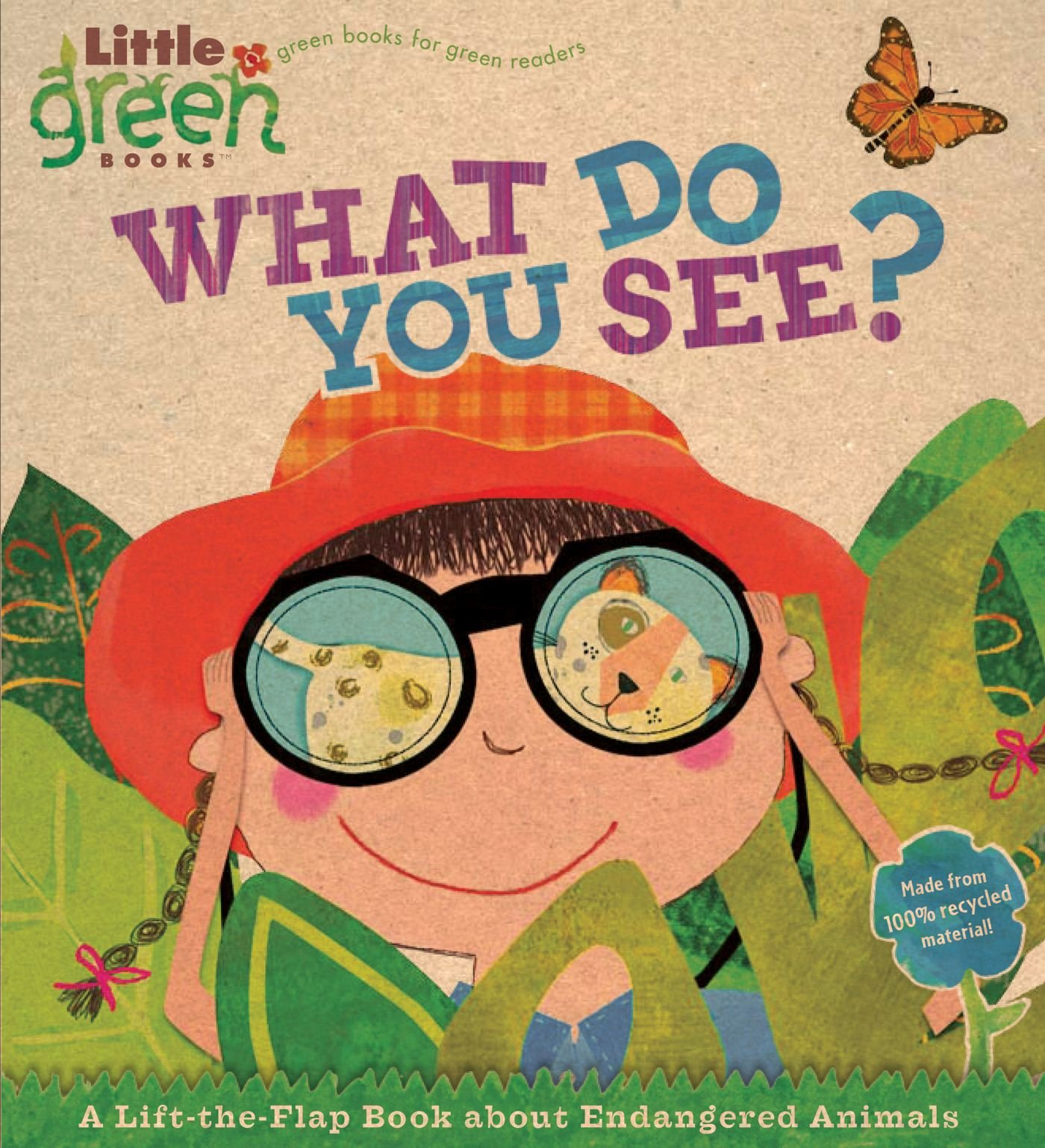 Read Online What Do You See?: A Lift-the-Flap Book About Endangered Animals (Little Green Books) PDF ePub ebook