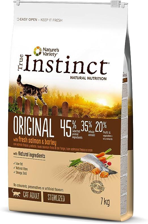 Comprar True Instinct Original Comida Para Gato Esterilizado Adulto con Salmón - 7 kg
