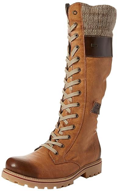 757ff3dc3 Rieker Women's Z1442 High Boots, Brown (Tan 24), 3.5 UK 36 EU