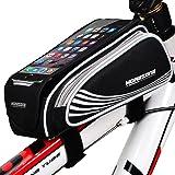 MOREZONE 自転車 スマホホルダー 大容量 5.5インチ フレームバッグ iphone 6s plus対応