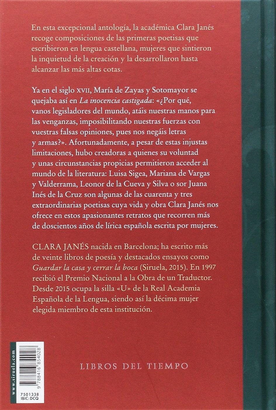Las primeras poetisas en lengua castellana: Varios: 9788416854028: Amazon.com: Books