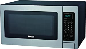 RCA RMW727 0.7 Cubic Foot Microwave, Stainless Steel