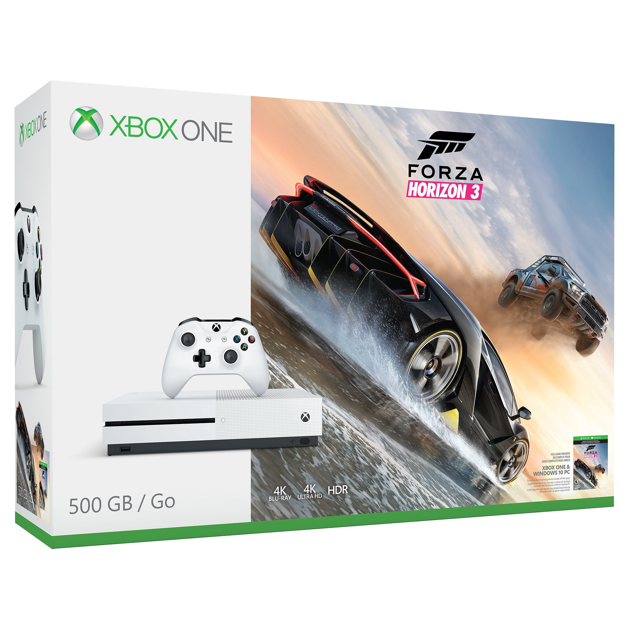 Xbox One S 500GB Console - Forza Horizon 3 Bundle [Discontinued]