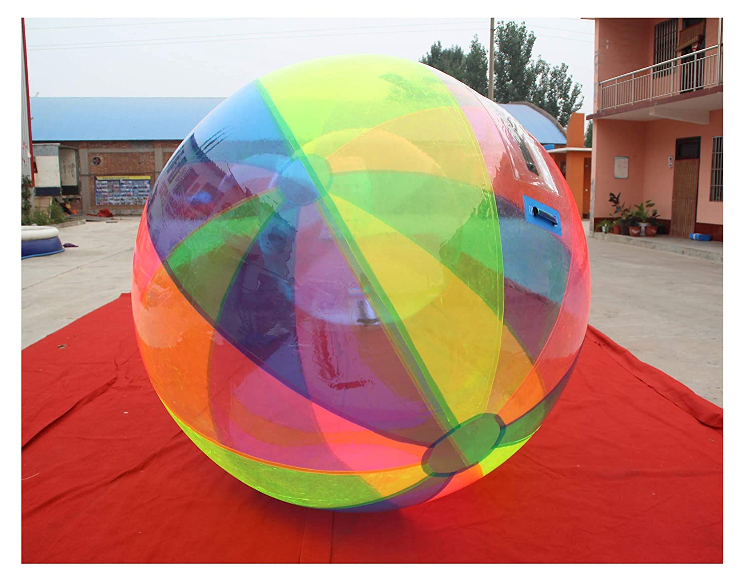 Water Ball 2 Metros Tricolor (Amarillo - Azul - Rosa) PVC Super ...