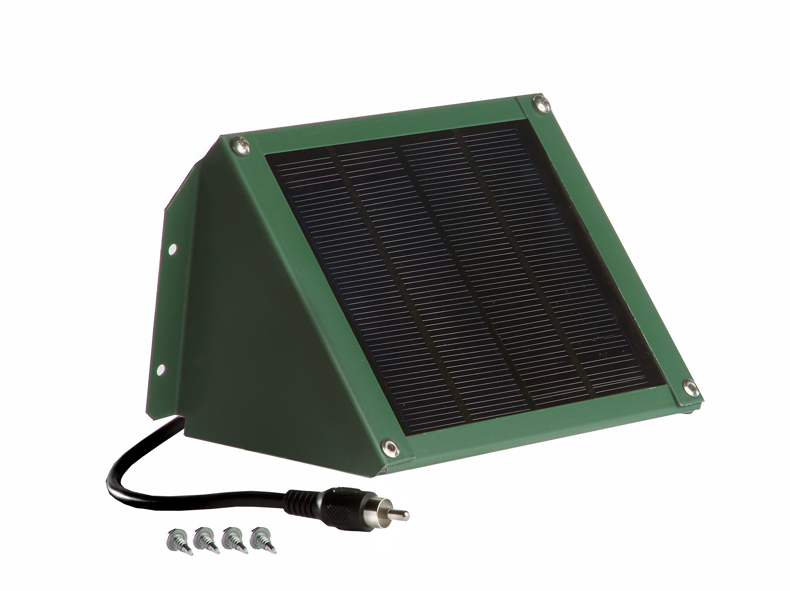 Sweeney Feeders SX212-GR Solar Charger for Directional Feeders -12 Volt 2 Watt, Green Finish