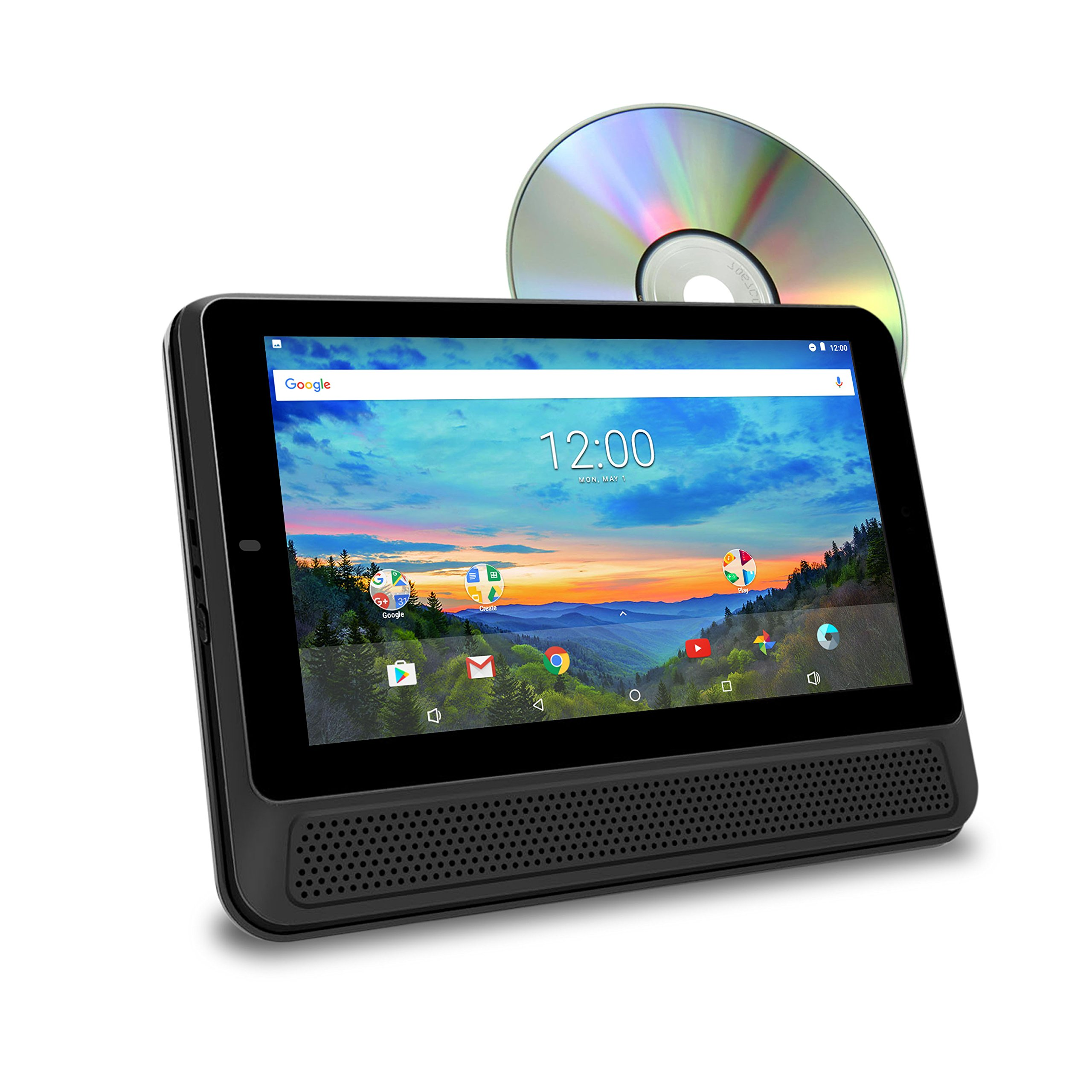 RCA 10'' Touchscreen Tablet PC/DVD Combo Featuring Android 6.0 (Marshmallow)