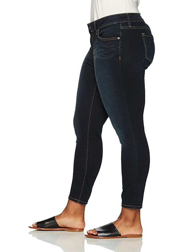 f51532a8dd7 SLINK Jeans Women s Plus Size Ankle Jegging Jean at Amazon Women s Clothing  store