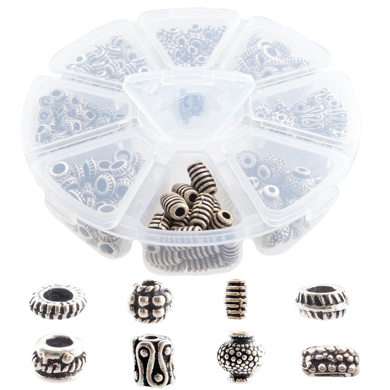 Tibetan & Bali Style Silver Spacers