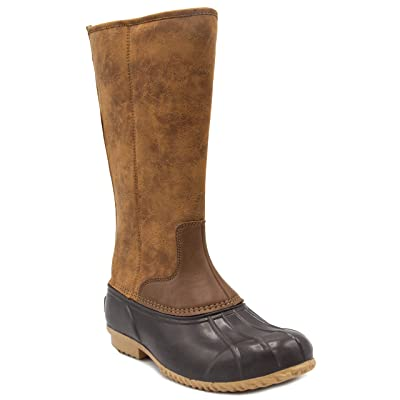 London Fog Womens Whitley Cold Weather Tall Duck Boot | Rain Footwear