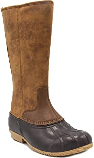 b5aa237abb71 London Fog Womens Whitley Cold Weather Tall Duck Boot