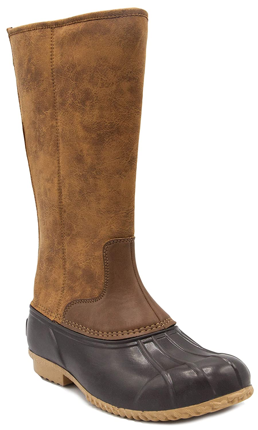 London Fog Womens Whitley Cold Weather Tall Duck Boot LFW-WHITLEY