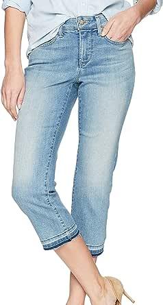 NYDJ Womens Capri with Released Hem Jeans - Blue