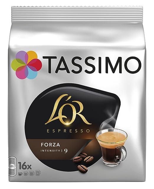 Tassimo Café LOr Espresso Forza, Intensidad 9-16 Cápsulas: Amazon.es: Amazon Pantry