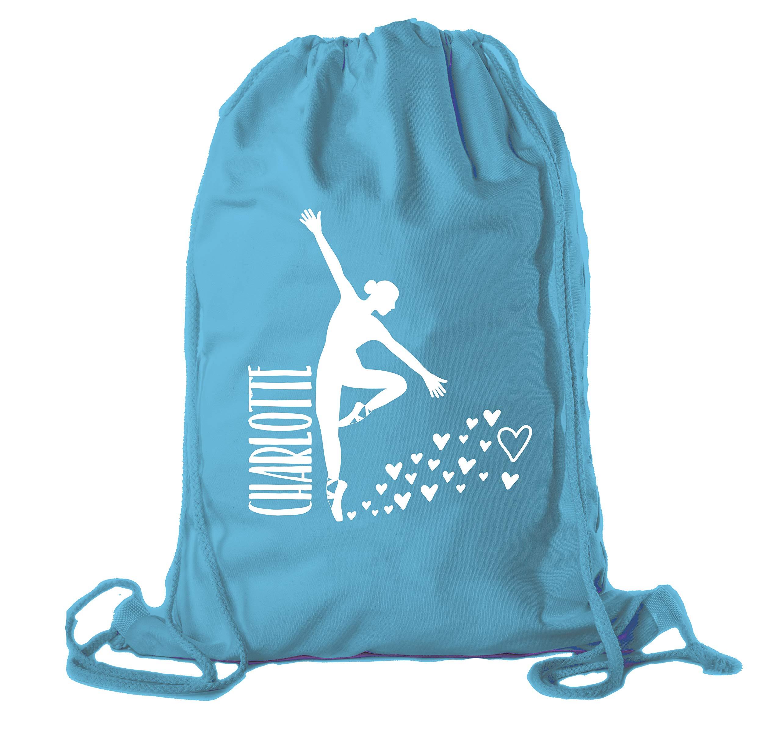 Personalized Dance Bags, Ballet Drawstring Backpack, Dance Backpacks for Girls - 10PK Watermelon CE2725Dance S5