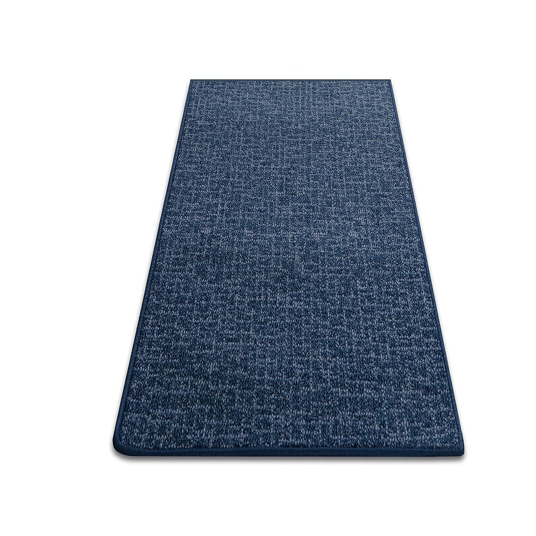 Teppichläufer Bermuda blau Teppich Läufer Brücke Meterware 120 cm breit robust und unempfindlich 120 x 550 cm B00I8Q3OI8 Lufer