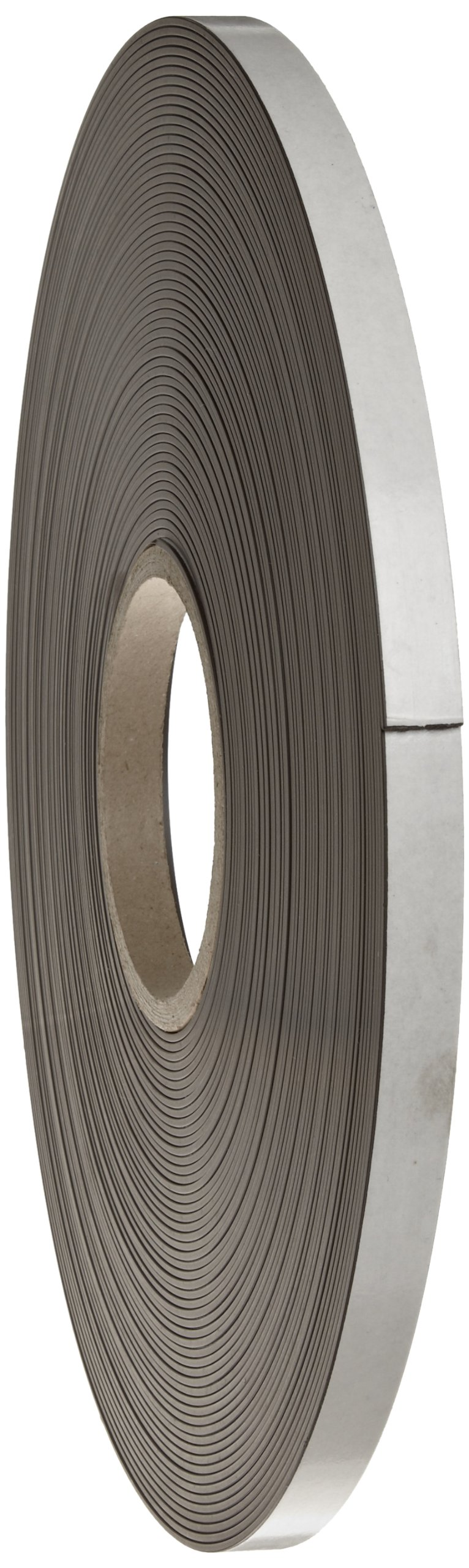 High Energy Flexible Magnet Strip, 1/16'' Thick, 1/2'' Wide, 100' Length (1 Roll)