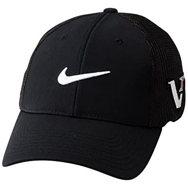 20f82f5fbc2 2012 Nike Dri-Fit Tour Flexfit Golf Cap - Black - Medium Large   Amazon.co.uk  Clothing