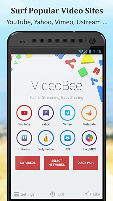 Amazon com: VideoBee - Fast Video Streamer and Downloader