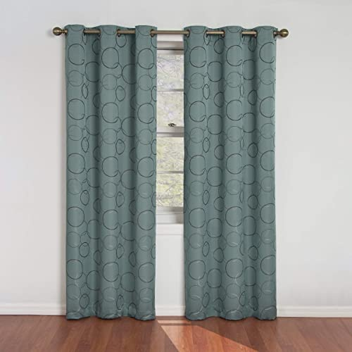 Eclipse Meridian Thermal Insulated Single Panel Grommet Top Darkening Curtain