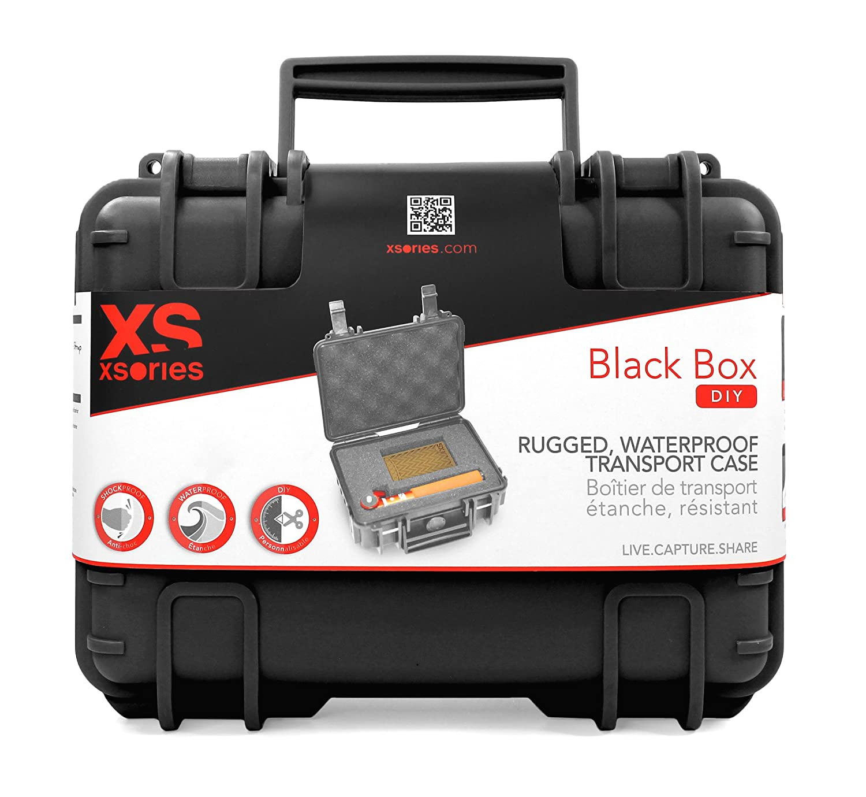 XSories IP 67ボックスケース/バッグ - ブラック B016S289RY