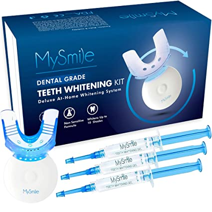 Amazon Com Teeth Whitening Kit With Led Light 10 Minute Fast