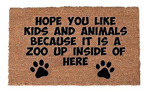 Amazon Com Funny Doormat Funny Door Mat Unique Doormat Quote Doormat Welcome Mat Rug Doormat Humor Funny Doormats Welcome Mat Dog Lover Handmade