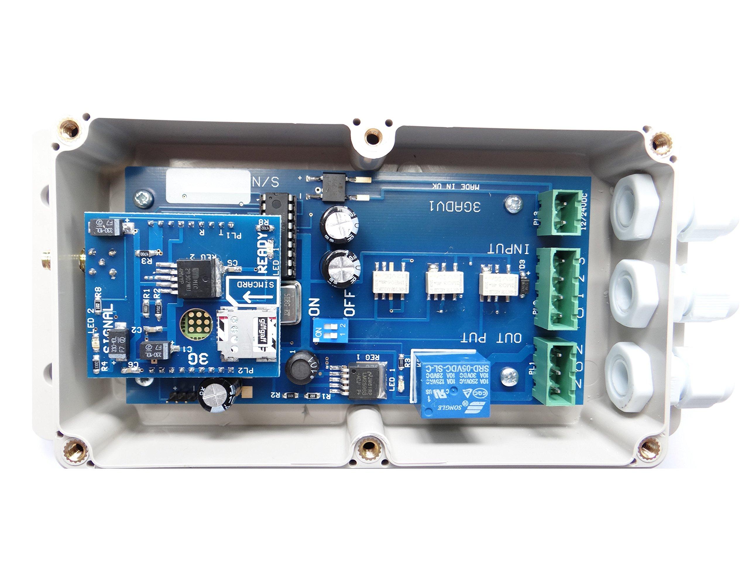 GSM Dialler Will Work on Most Burglar Alarms GJD710