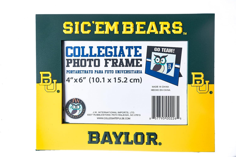 Collegiate Pulse Baylor Bears NCAA PVC Photo Frame JWI
