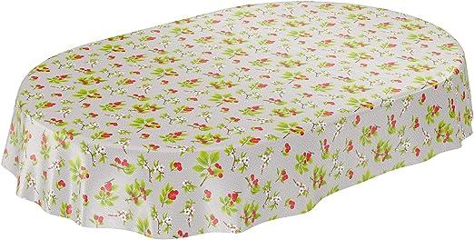 ANRO - Mantel de Hule para Mesa de Hule, diseño de Flores, Color ...