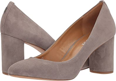 13c00608b33 Coach Women s Georgina Pump Heather Grey Suede 9.5 ...