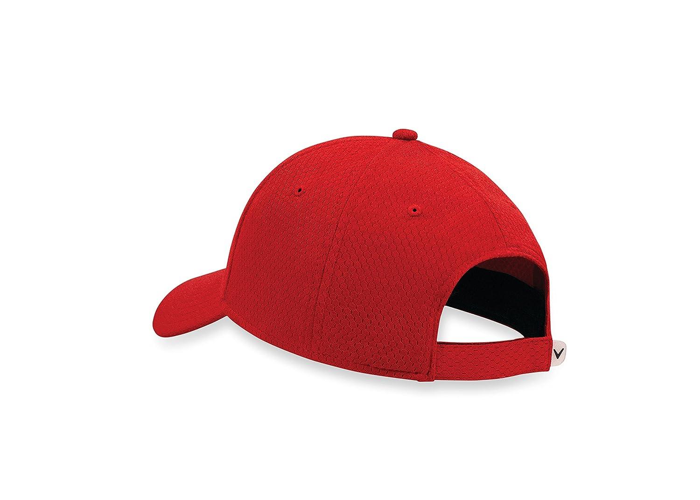 Callaway 5217093 Gorra de béisbol, Hombre, Multicolor (Rojo/Negro ...