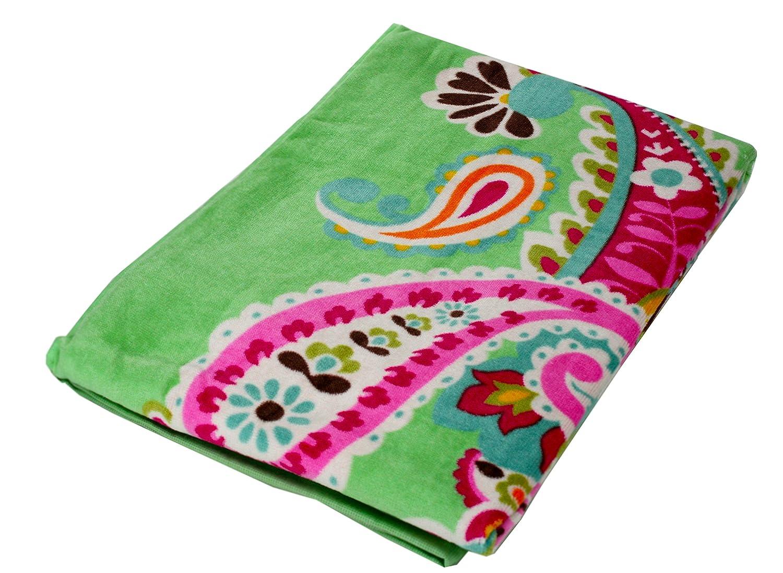 Amazon.com: Vera Bradley Beach Towel (Flower Shower): Vera Bradley ...