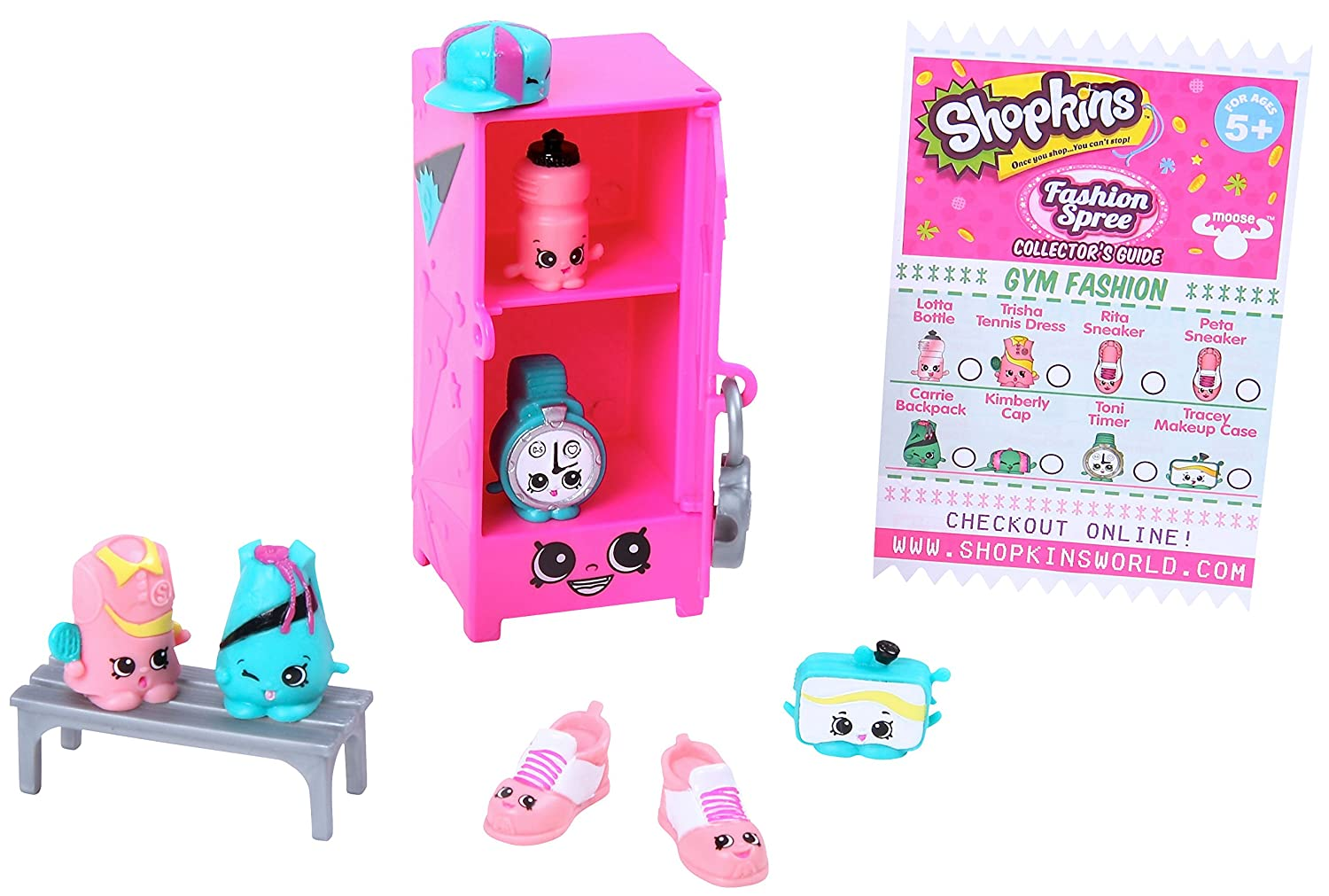 Shopkins Fashion Gym Fashion C...