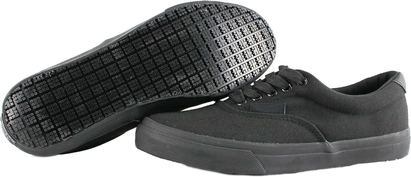 Own Shoe Slip Resistant Black Sunbrella