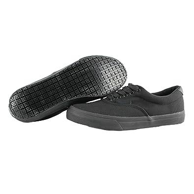 OwnShoe Black Sunbrella Slip Resistant Water Resistant Non Slip Shoes