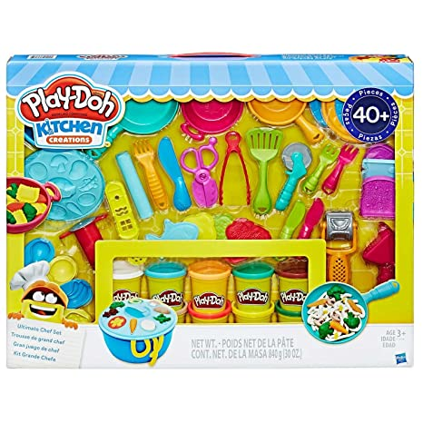 play doh kitchen creations ultimate chef set create and make meals with play - Kitchen Creations