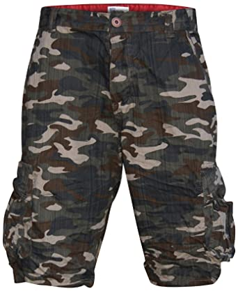 Worior Men's Soft Cotton Camo Cargo Shorts (30) | Amazon.com